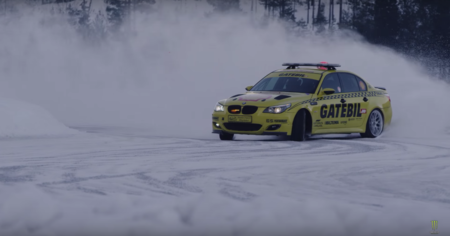 Video: Gatebil, el evento de derrapes sobre un lago congelado más atractivo del mundo