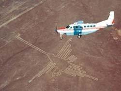 Sobrevuela las Líneas de Nazca en Perú