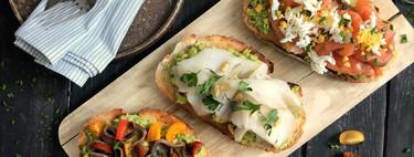 Siete recetas de tostadas fáciles y originales y siete utensilios para que te salgan perfectas