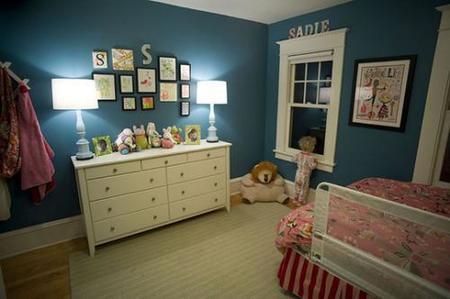 Otra vista del dormitorio de Sadie.