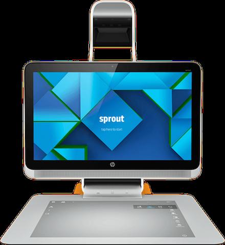 HP Sprout, el ordenador que llevará a nuestra casa la interacción virtual