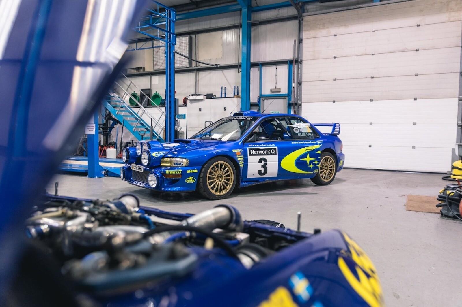 Foto de El Subaru Impreza WRC más caro en la historia (13/17)