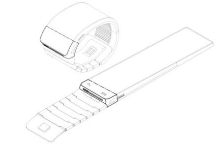 Samsung anda registrando el diseño de relojes inteligentes, con pantalla flexible