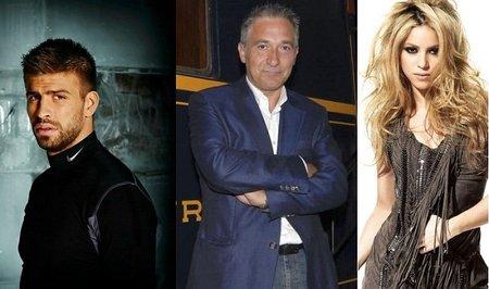 Javier Sardá se fustiga por hablar del beso Shakira-Piqué