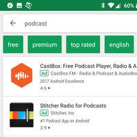 Google Play estaría experimentando con filtros de apps gratis o de pago en las búsquedas