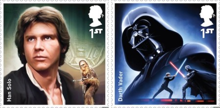 Star Wars Royal Mail Stamps