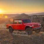 ¡Filtrada! La Jeep Gladiator se asoma antes de tiempo: una pick-up todoterreno... ¿descapotable?