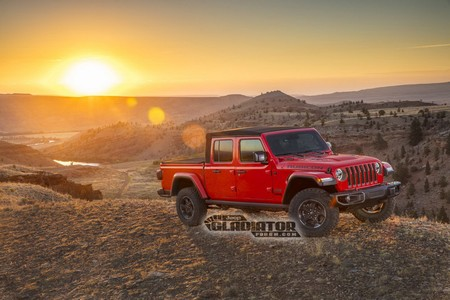 ¡Filtrada! La Jeep Gladiator se asoma antes de tiempo: una pick-up todoterreno... ¿descapotable?