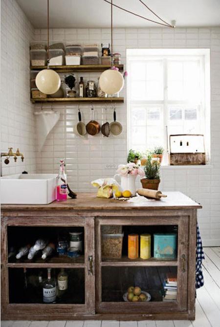 Las diez cocinas m s hermosas jam s vistas con cual de for Cocinas vintage chic