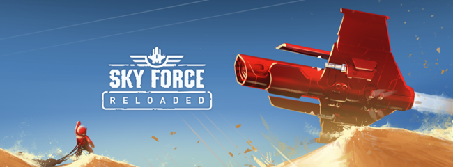 Sky Force Reloaded, el remake de la secuela del legendario shoot'em up es aún más espectacular