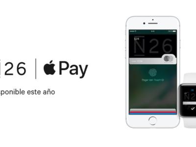 ¡Otro banco se apunta a Apple Pay en España! N26 lo hará a finales de este año [actualización]