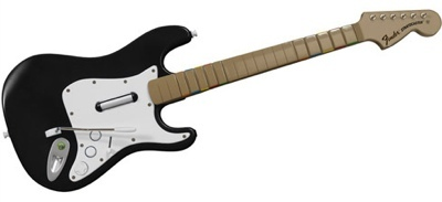 Una Fender Stratocaster para Rock Band