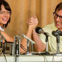 Emma Stone vs. Steve Carell: tenis y machismo en el tráiler de 'La batalla de los sexos'