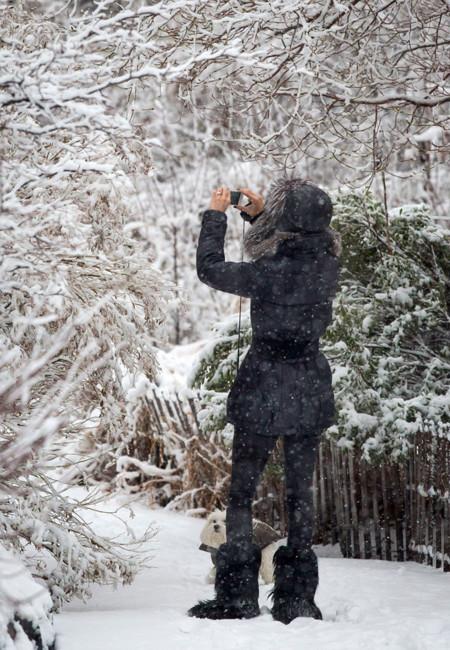 Olivia Palermo nieve