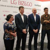 Biz&Go, el servicio para gestionar tu negocio desde el móvil de LG y Verifone