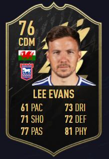 Lee Evans fifa 22 equipo de la semana 3 totw