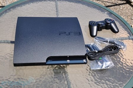 PS3 Slim Engadget Unbox