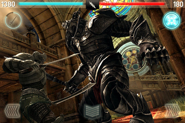 Infinity Blade II de Epic Games exclusivo de iOS