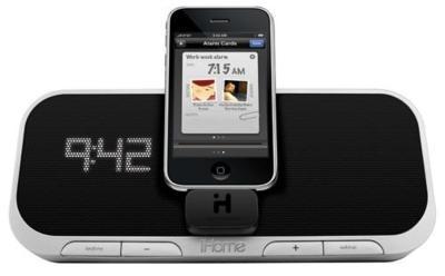 iHome iA5 hace partícipe al iPhone del propio sistema de sonido
