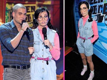 Las mil y una caras de Katy Perry en los Teen Choice Awards