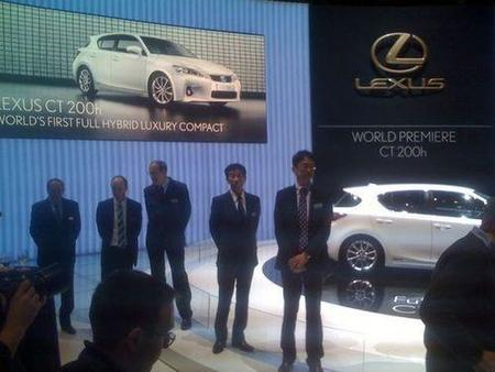 Salón de Ginebra: presentación previa del Lexus CT-200h