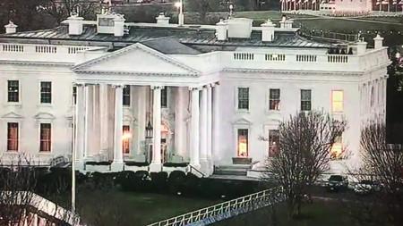 No, Trump no encendió y apagó las luces de la Casa Blanca a petición de un programa de TV. Cazadores de Fakes