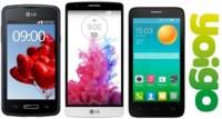 Precios LG G3 Beat, LG L50 y Alcatel Pop D5 con Yoigo