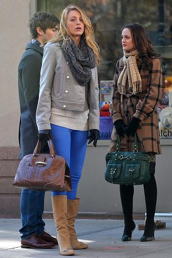Este invierno para lucir no hay que sufrir: así se abrigan Blair y Serena