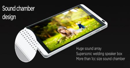 Sonido Huawei MediaPad M1