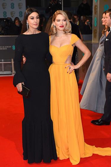 La sobriedad y belleza de Monica Bellucci en los BAFTA 2015