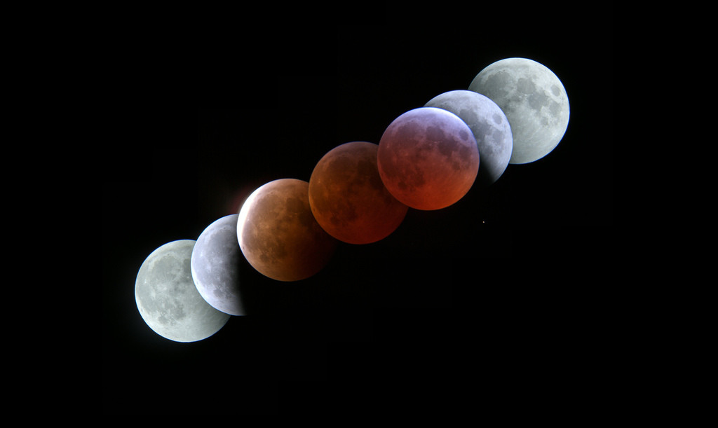 Eclipse superlunar