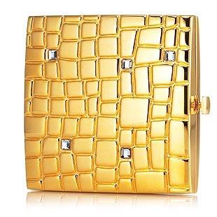 Gold Tiles, polvera de lujo