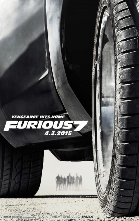 Foto de 'Fast and Furious 7', carteles (1/6)