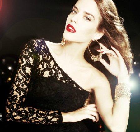 Moda de fiesta Navidad 2011: 20 vestidos asimétricos, ¡rompiendo las normas!