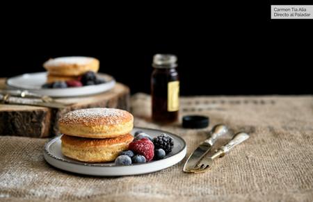 Así se hacen las tortitas soufflé (o soufflé pancakes) que arrasan en Instagram: las más esponjosas del mundo mundial