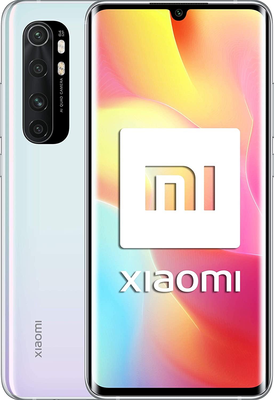 """Xiaomi Mi Note 10 Lite (Pantalla FHD+ 6.47"""", 6GB + 64GB; Cámara 64MP, Snapdragon 730G, Dual 4G, 5260mAh con Carga rápida 30W, Android 10) Blanco [versión española]"""
