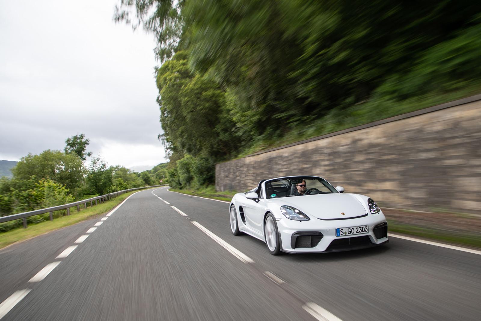 Foto de Porsche 718 Spyder (prueba contacto) (76/296)