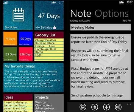 My Notes app
