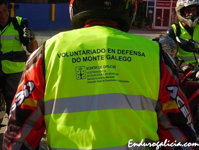 Voluntariado en Defensa del monte Gallego