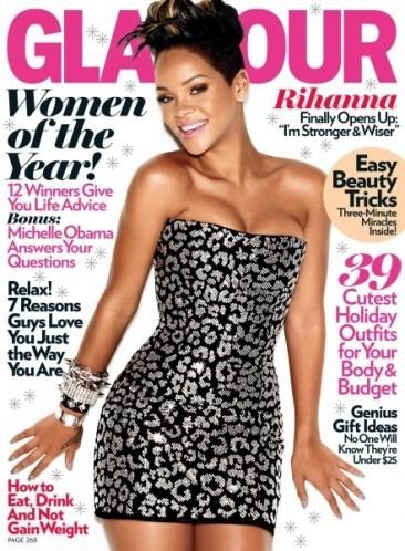 Rihanna, super sexy para Glamour Magazine