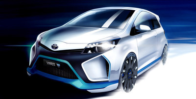 Así son los 420 CV del Toyota Yaris Hybrid-R concept