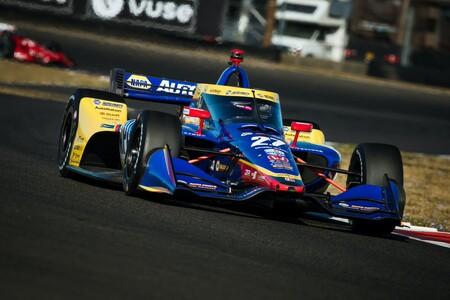 Rossi Portland Indycar 2021
