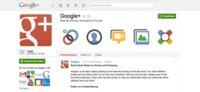 La imagen de la semana: las nuevas páginas de Google+ y sus fallos