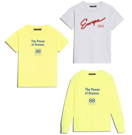 Balenciaga Kids Camisetas