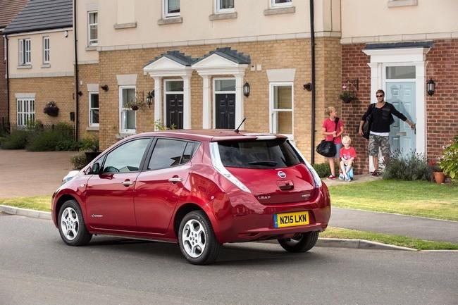 Nissan Leaf Uk 2015