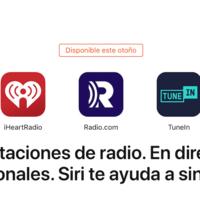 Apple ya permite escuchar algunas de las 100.000 emisoras de radio con Siri en iPhone y HomePod