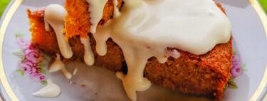 Hotcakes de pastel de zanahoria. Receta navideña