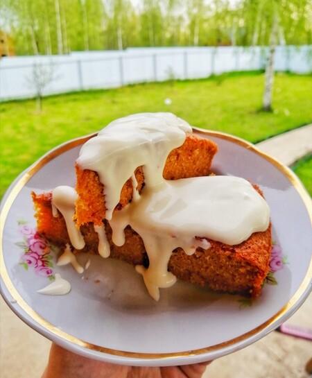 Receta Facil Hot Cakes Pastel Zanahoria Hervir o hacer al vapor hasta que estén tiernas. hotcakes de pastel de zanahoria receta navidena