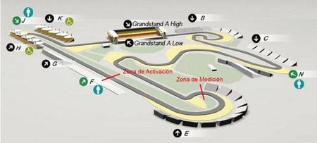 GP de China F1 2011: la contra recta será la zona de utilización para el DRS