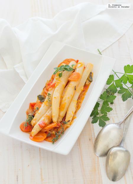 Vegetarianos Espárragos